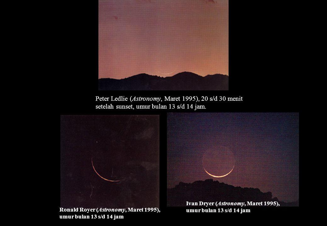 Peter Ledlie (Astronomy, Maret 1995), 20 s/d 30 menit