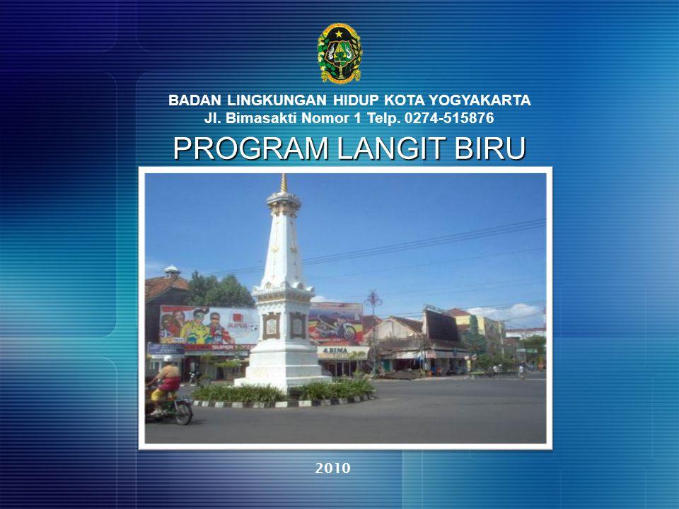 PROGRAM LANGIT BIRU BADAN LINGKUNGAN HIDUP KOTA YOGYAKARTA