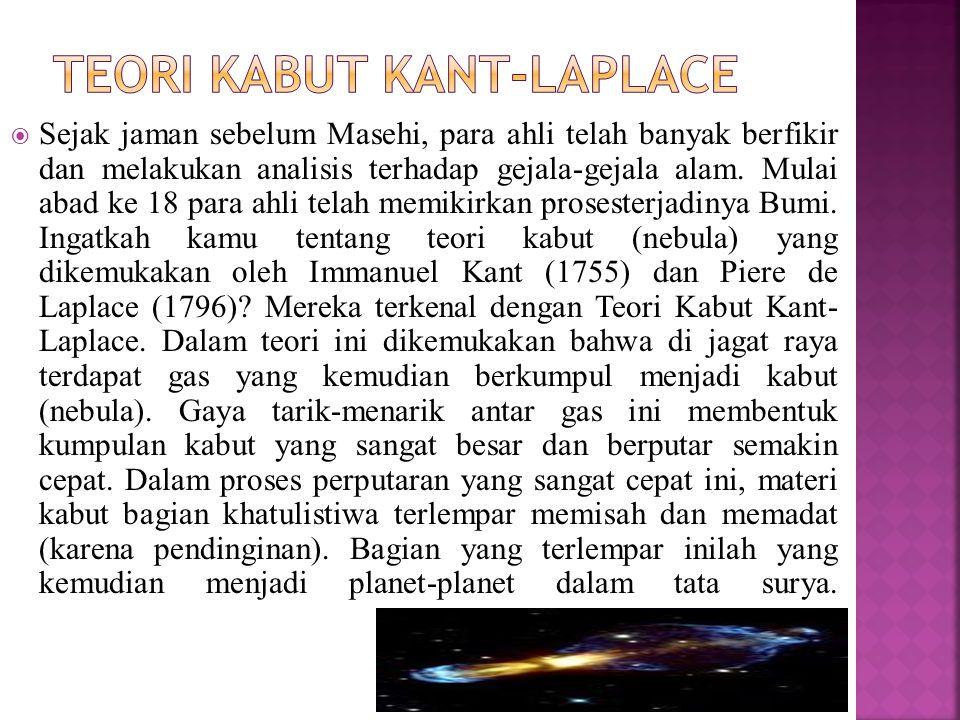 Teori Kabut Kant-Laplace