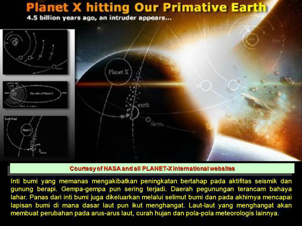Courtesy of NASA and all PLANET-X international websites