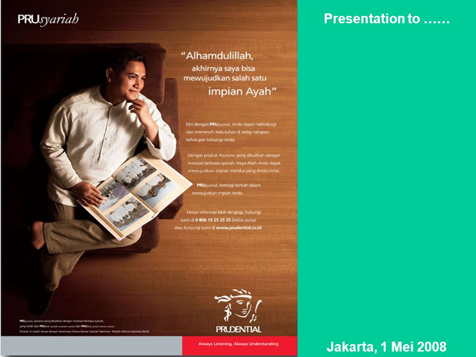 Presentation to …… Jakarta, 1 Mei 2008