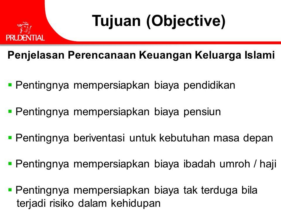 Tujuan (Objective) Penjelasan Perencanaan Keuangan Keluarga Islami