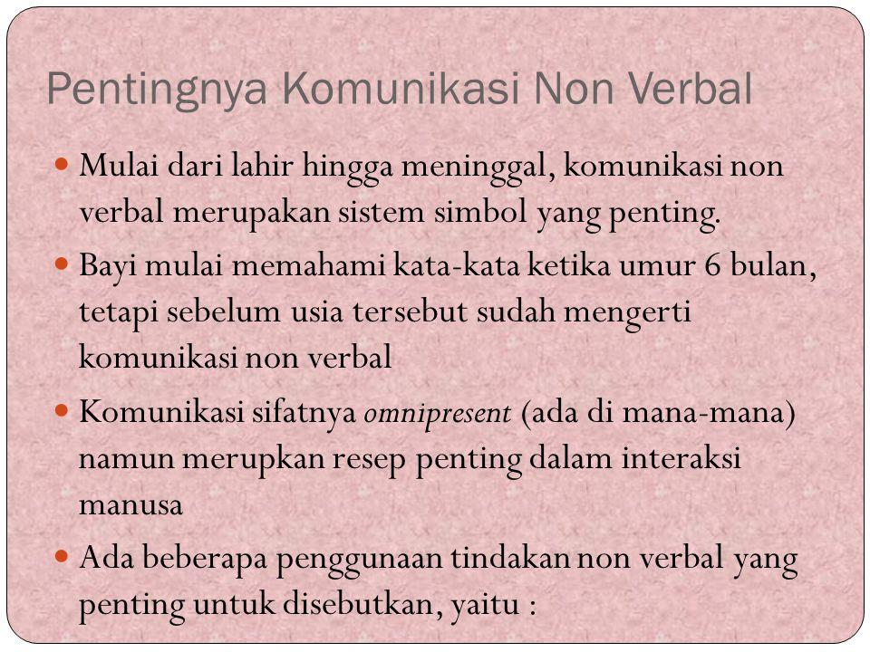 Pentingnya Komunikasi Non Verbal