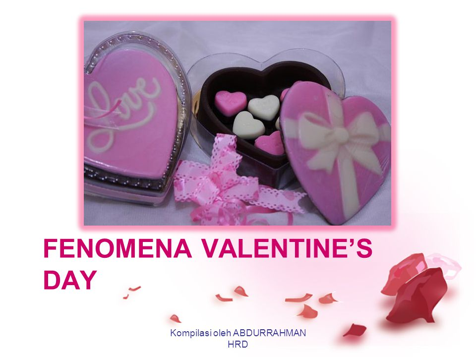 Fenomena valentine's day