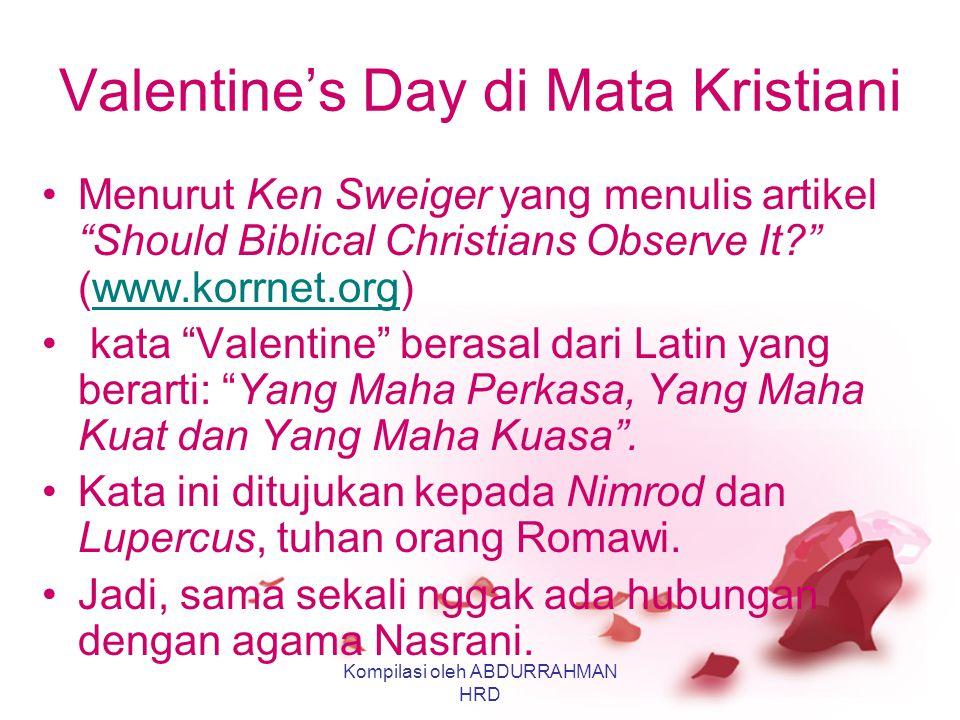 Valentine's Day di Mata Kristiani