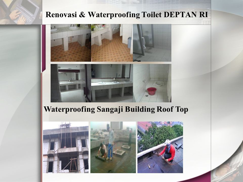 Renovasi & Waterproofing Toilet DEPTAN RI