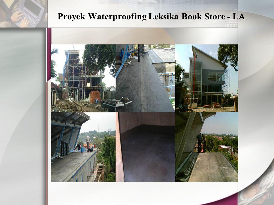 Proyek Waterproofing Leksika Book Store - LA