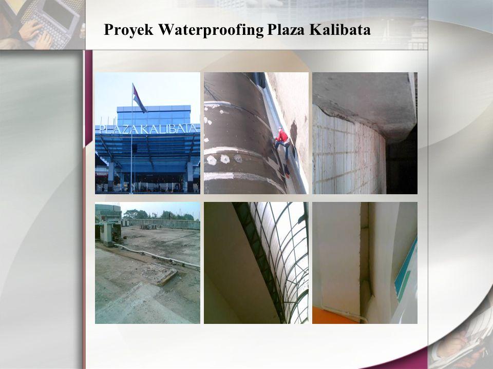 Proyek Waterproofing Plaza Kalibata