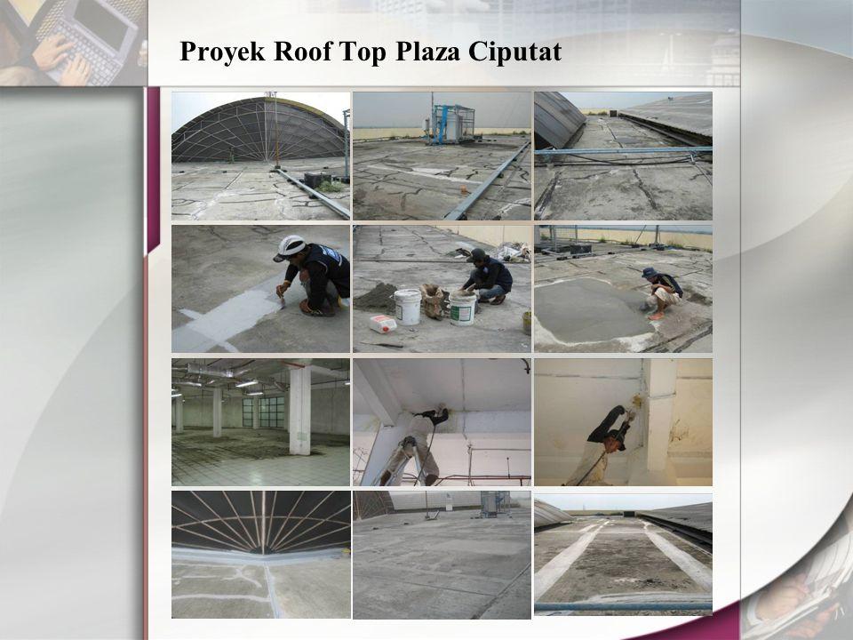 Proyek Roof Top Plaza Ciputat