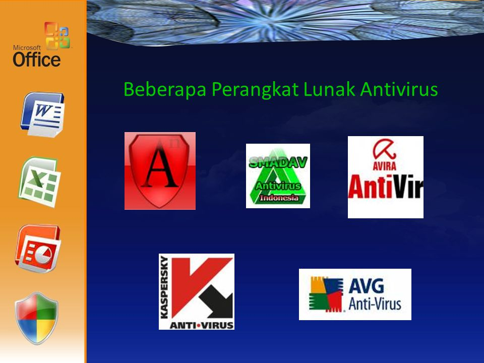 Beberapa Perangkat Lunak Antivirus