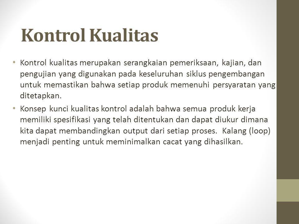 Kontrol Kualitas