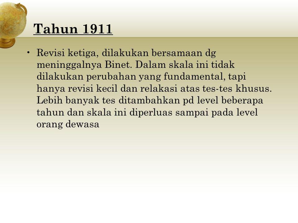Tahun 1911