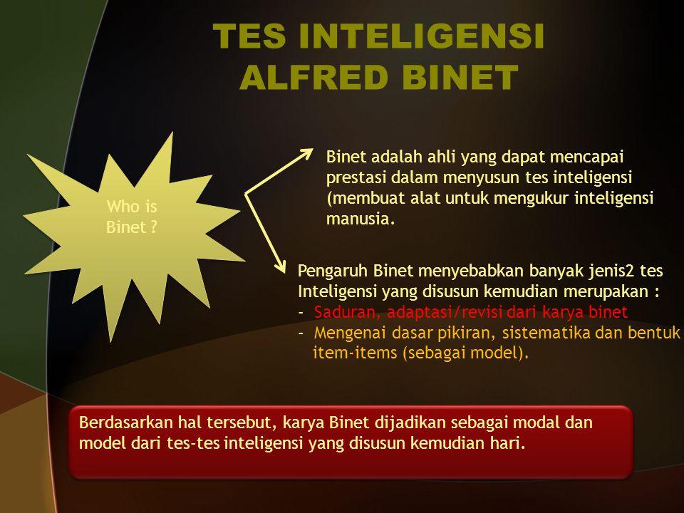TES INTELIGENSI ALFRED BINET
