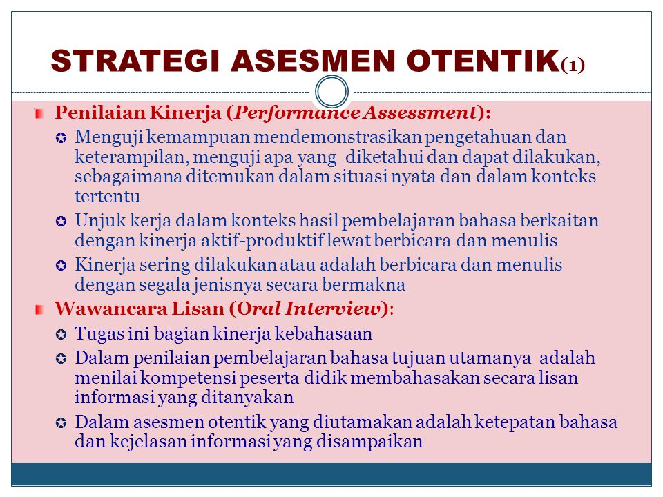 STRATEGI ASESMEN OTENTIK(1)