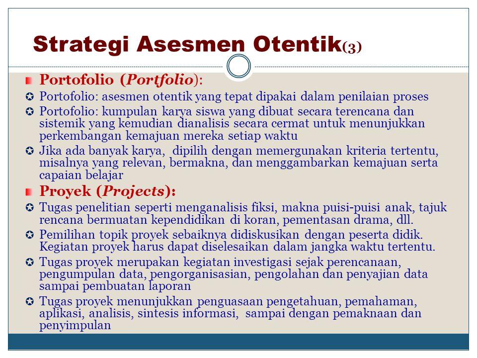 Strategi Asesmen Otentik(3)