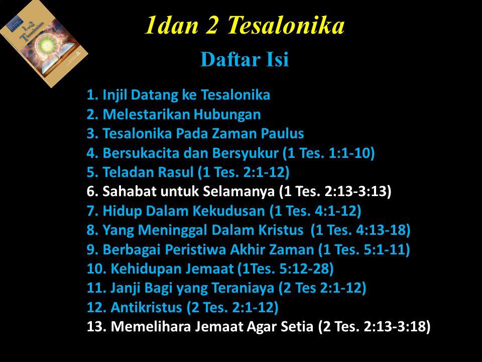 1dan 2 Tesalonika Daftar Isi