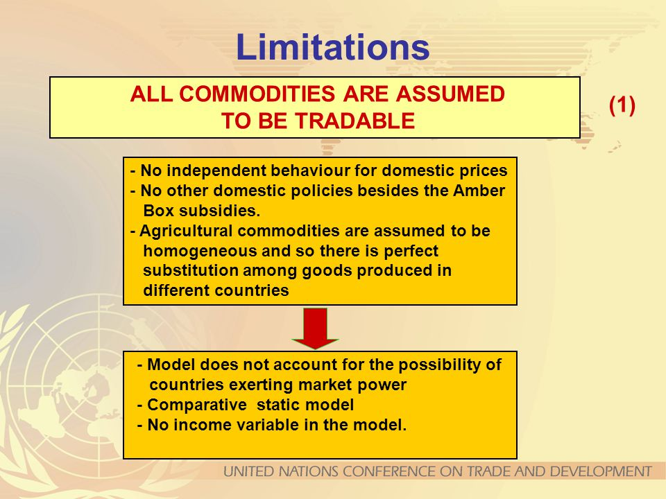 ALL COMMODITIES ARE ASSUMED