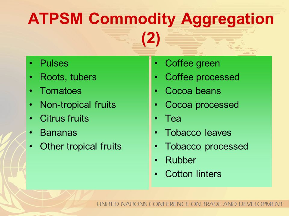 ATPSM Commodity Aggregation (2)