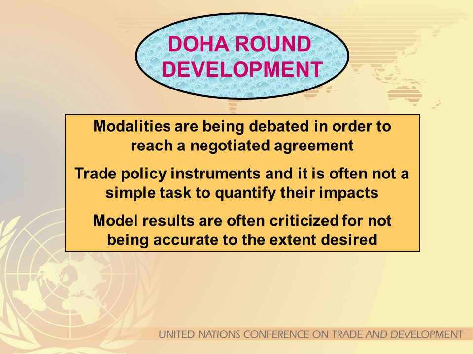 Modalities are being debated in order to reach a negotiated agreement