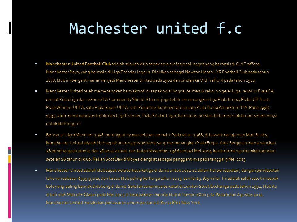 Machester united f.c