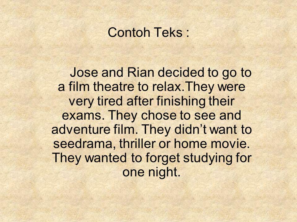 Contoh Teks :