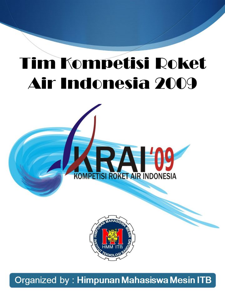 Tim Kompetisi Roket Air Indonesia 2009