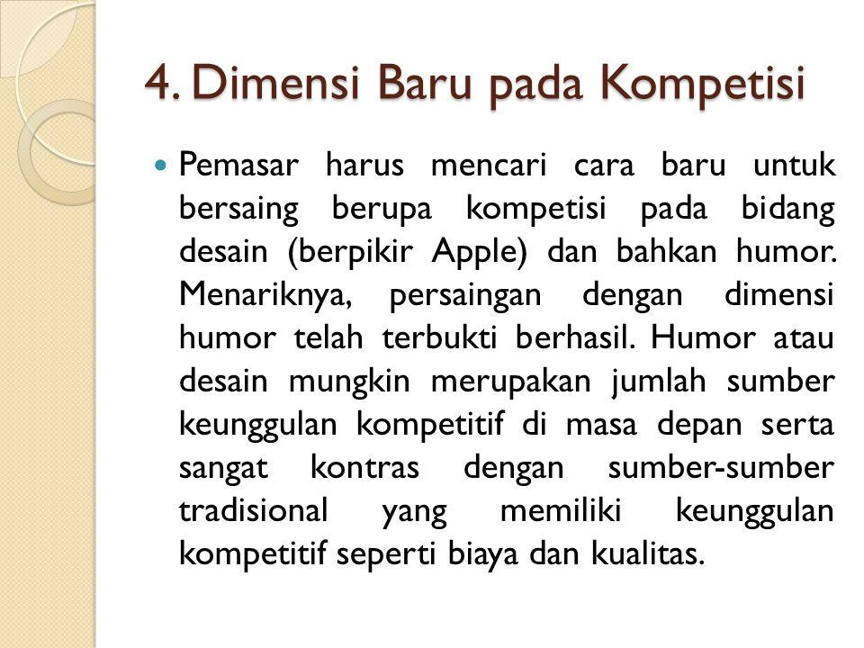 4. Dimensi Baru pada Kompetisi