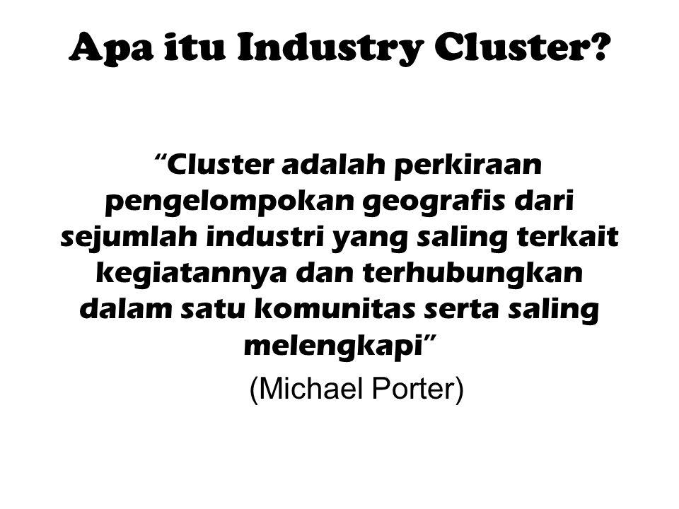 Apa itu Industry Cluster