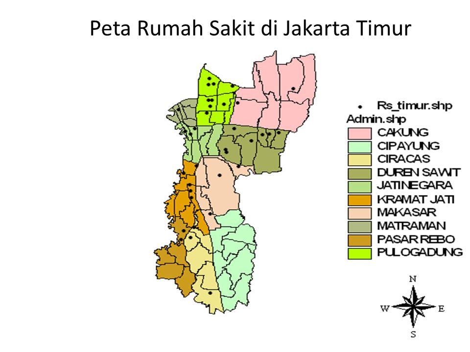 Peta Rumah Sakit di Jakarta Timur