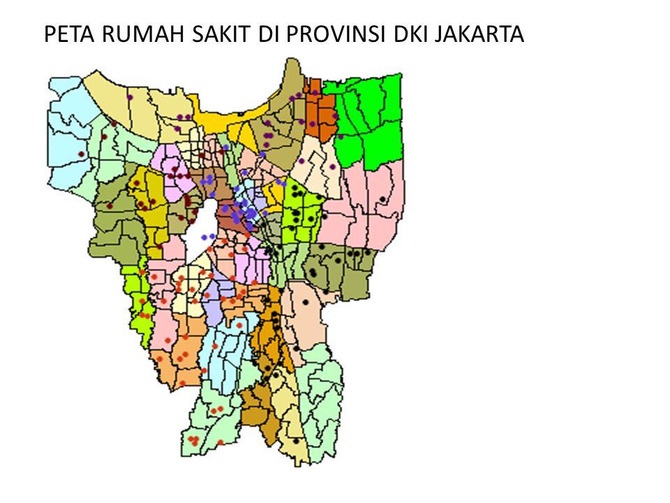 PETA RUMAH SAKIT DI PROVINSI DKI JAKARTA