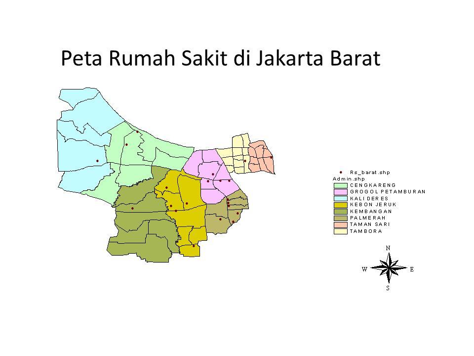 Peta Rumah Sakit di Jakarta Barat