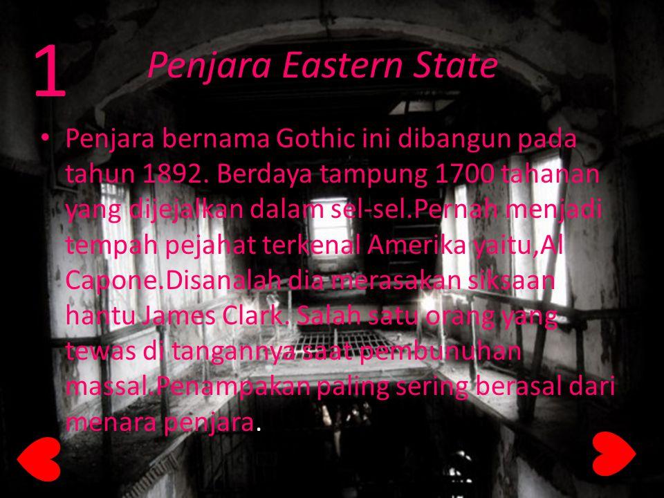 1 Penjara Eastern State.