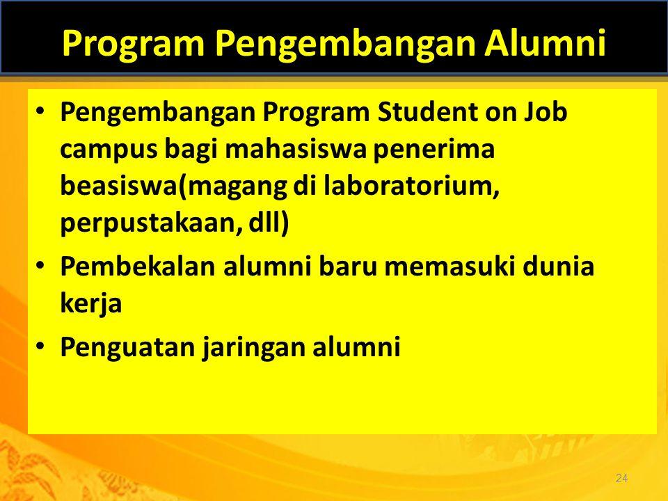 Program Pengembangan Alumni