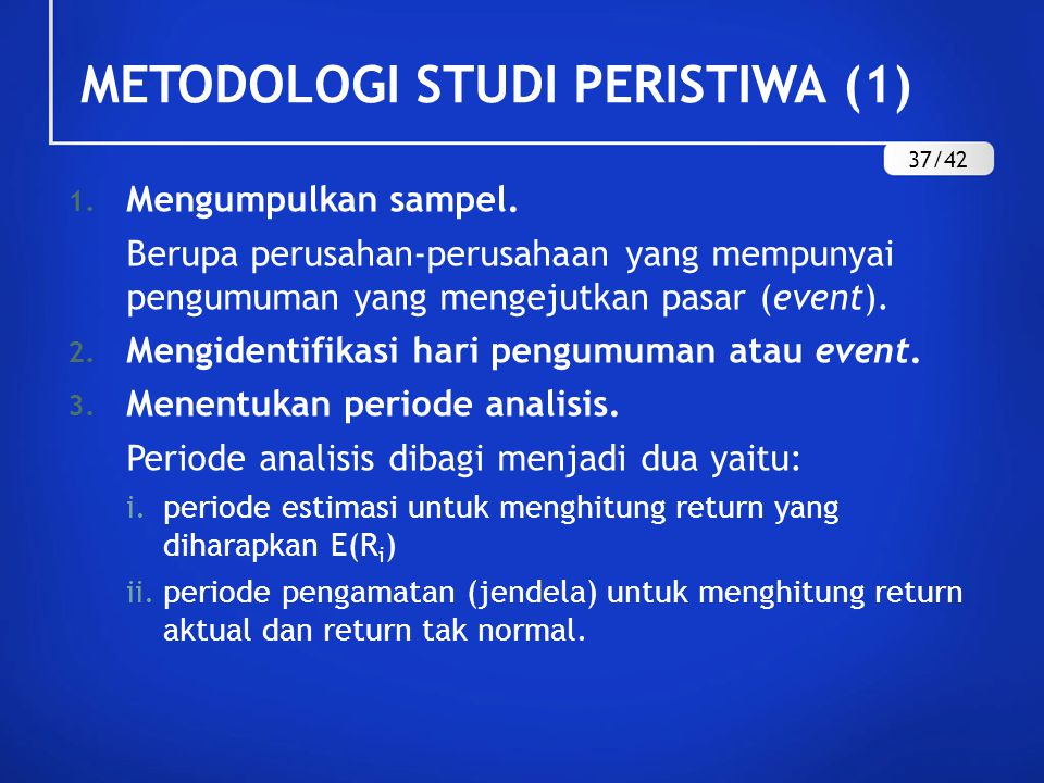 METODOLOGI STUDI PERISTIWA (1)