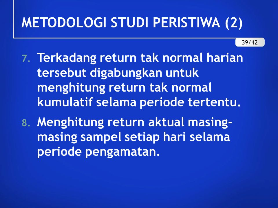 METODOLOGI STUDI PERISTIWA (2)