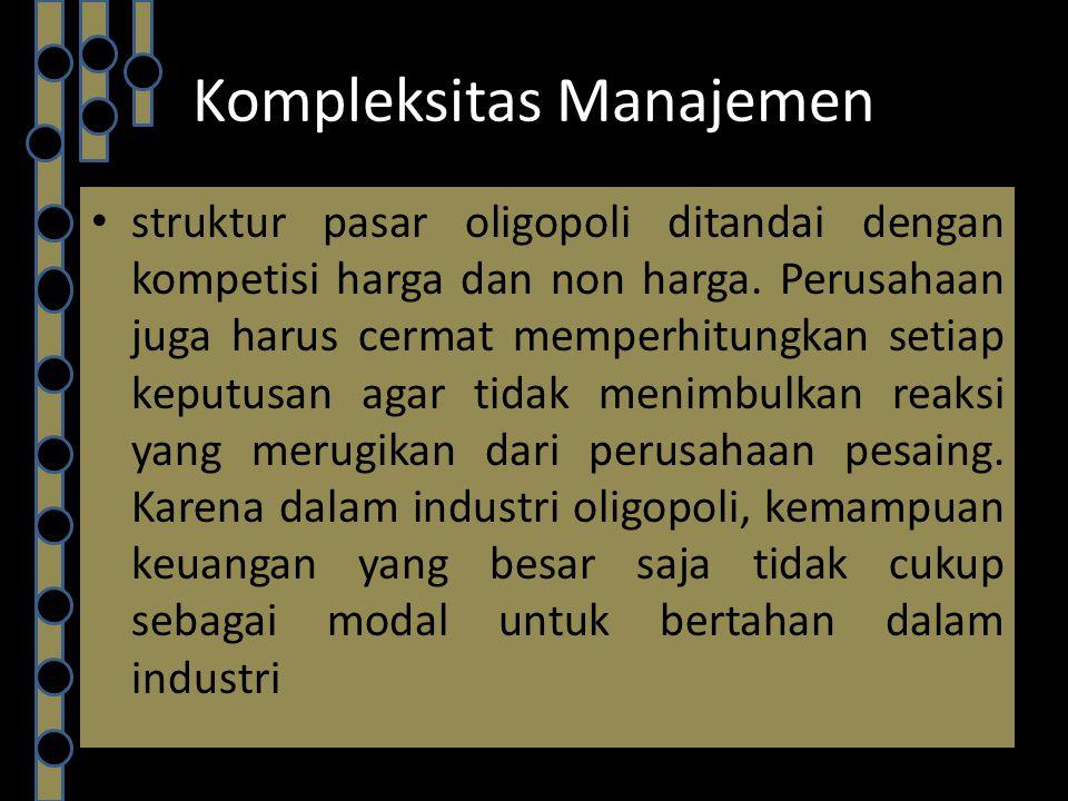 Kompleksitas Manajemen