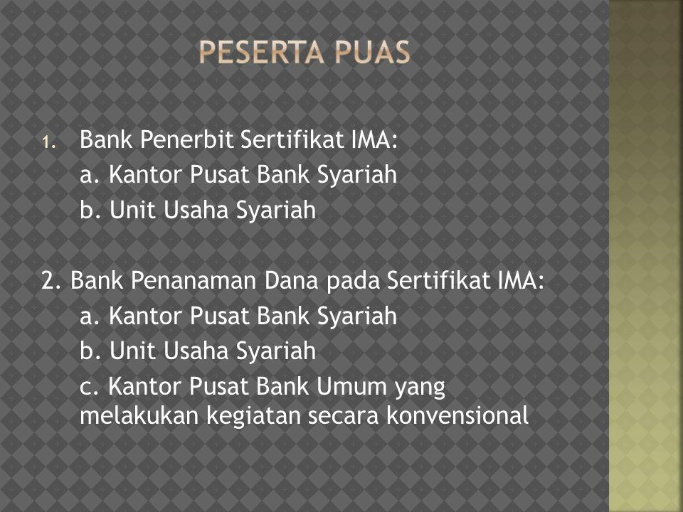 Peserta Puas Bank Penerbit Sertifikat IMA: