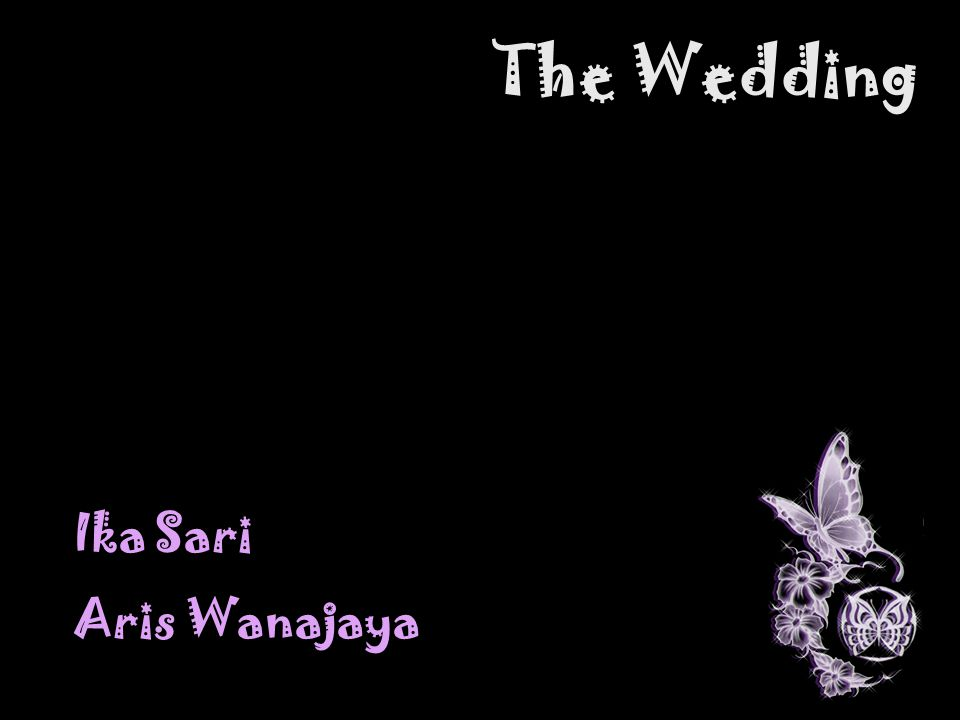 The Wedding Ika Sari Aris Wanajaya