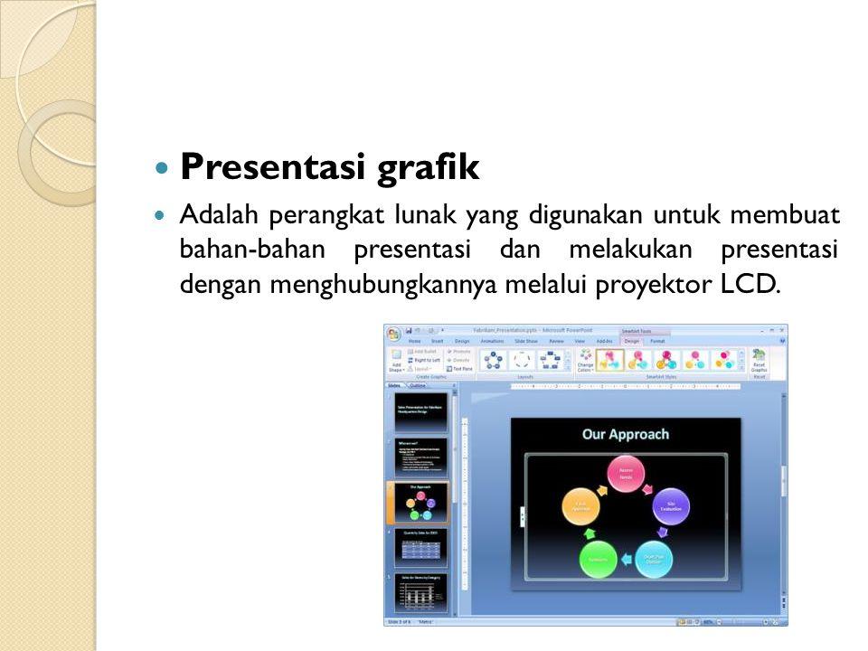 Presentasi grafik