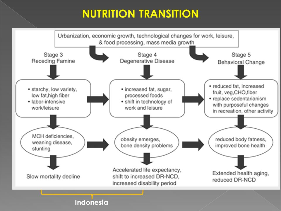 NUTRITION TRANSITION Indonesia