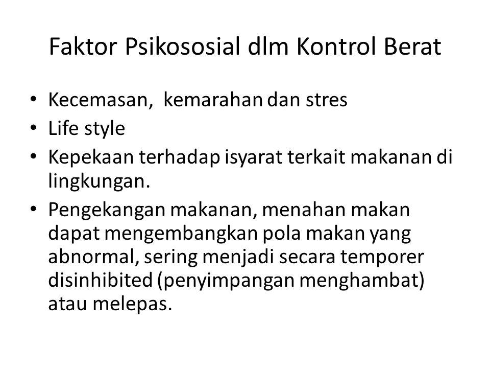 Faktor Psikososial dlm Kontrol Berat
