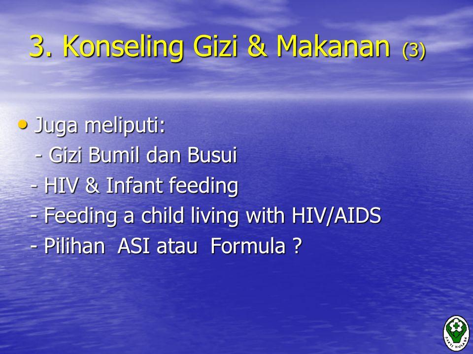 3. Konseling Gizi & Makanan (3)