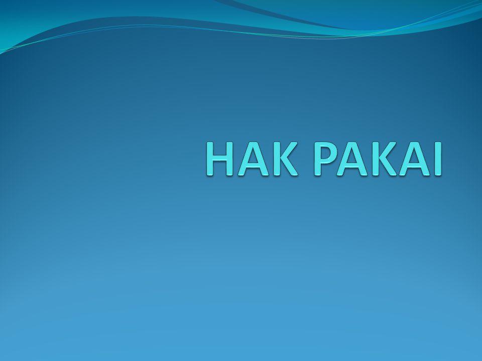 HAK PAKAI