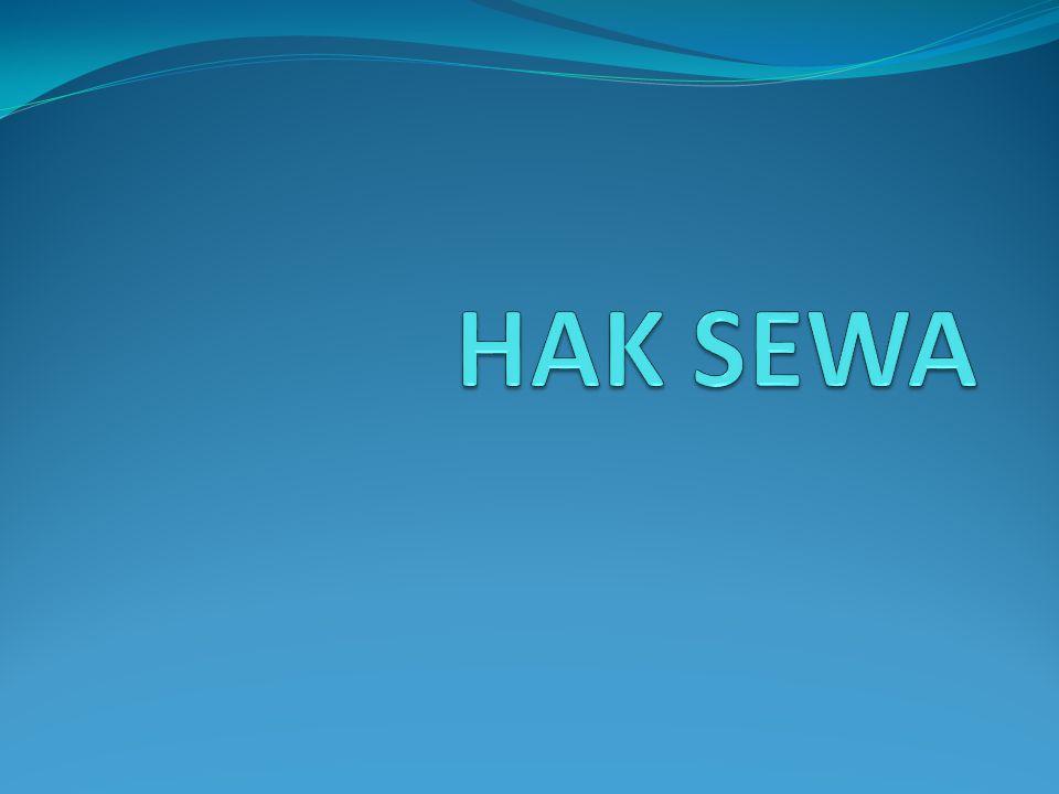 HAK SEWA