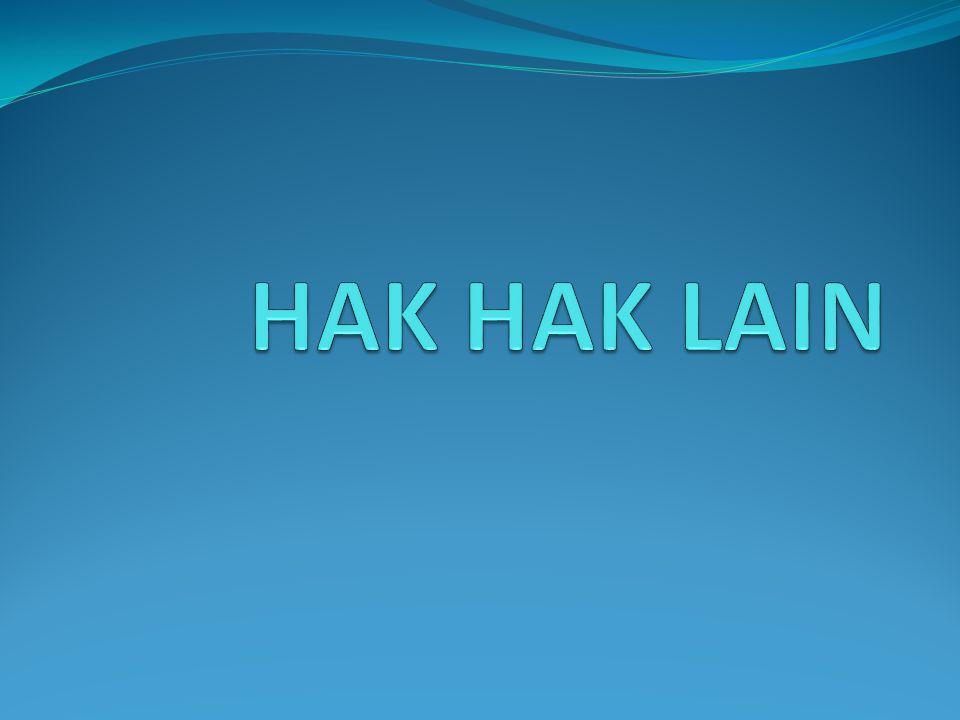 HAK HAK LAIN