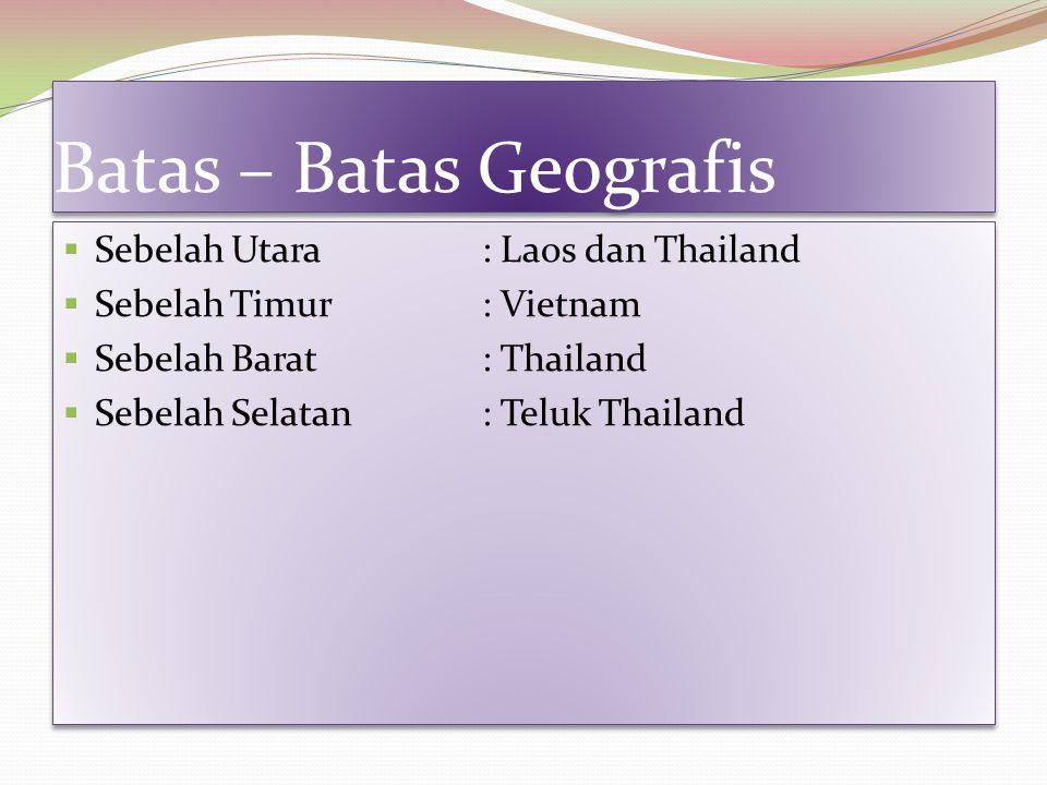 Batas – Batas Geografis