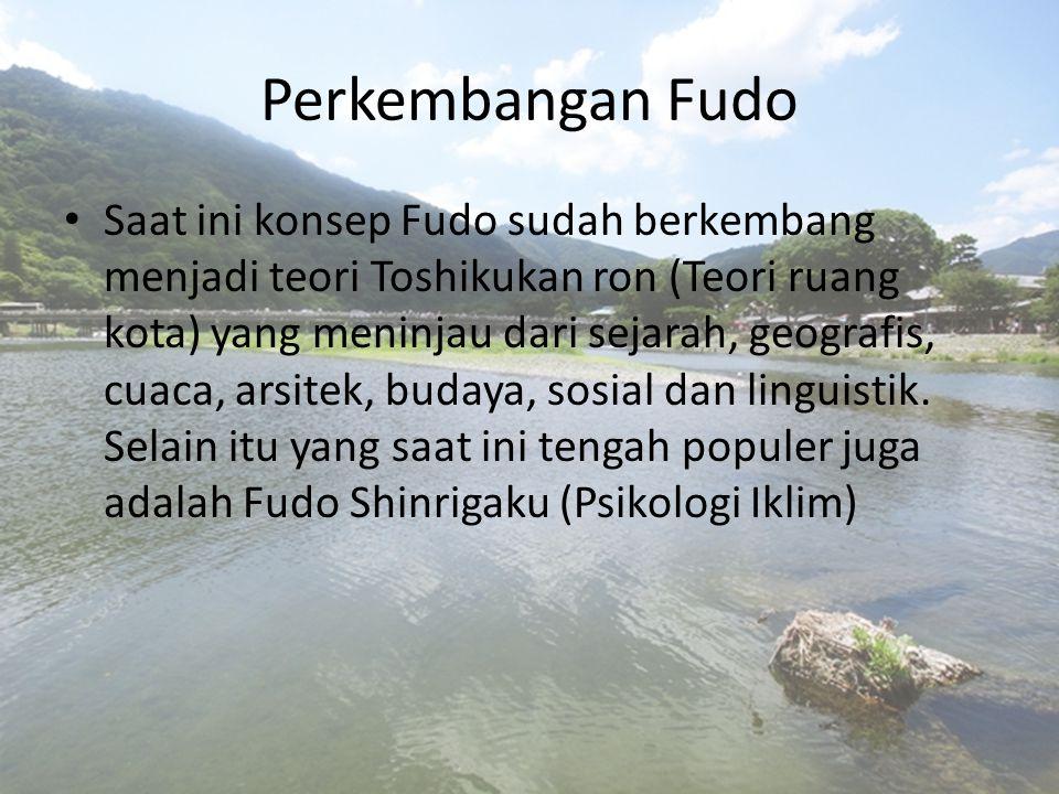 Perkembangan Fudo