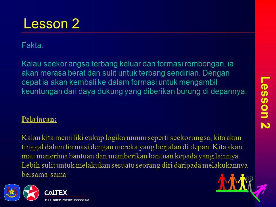 Lesson 2 Lesson 2. Fakta: