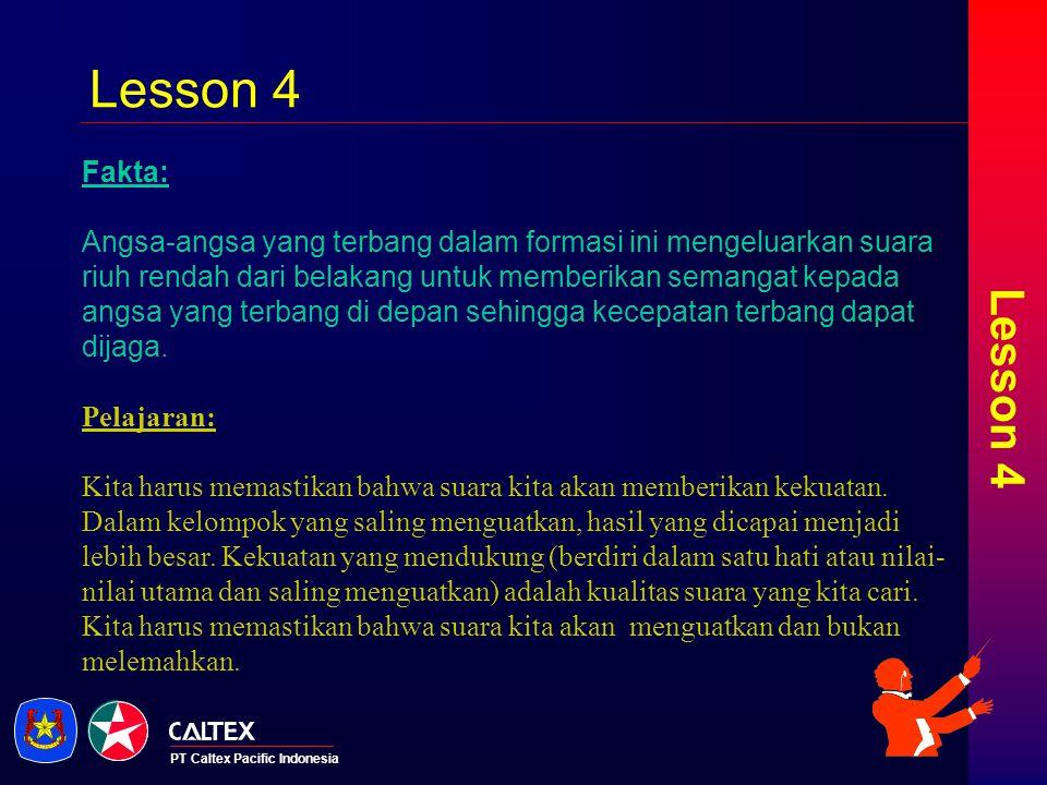 Lesson 4 Lesson 4. Fakta: