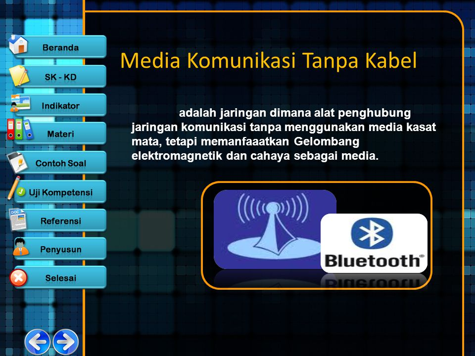 Media Komunikasi Tanpa Kabel